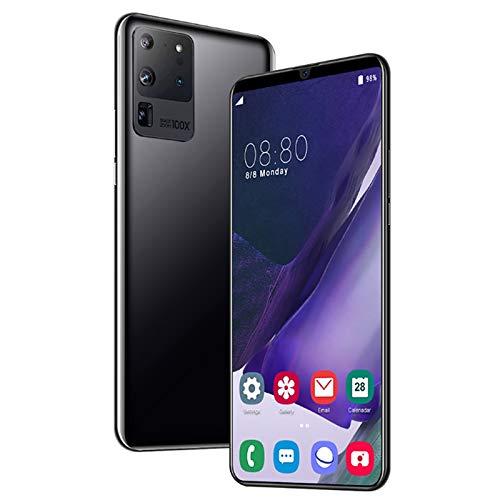 HTYQ Mobile phone, S21 unlocked free SIM card smartphone, 13MP 24MP beauty camera 8GB + 512GB, 10.0 Oreo, fingerprint…