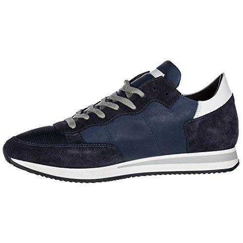 Chaussures En Daim Blu Tropez Philippe Sneakers Homme Baskets Model 7z5qxRqf
