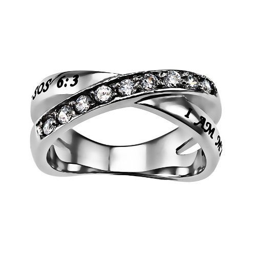 Spirit And Truth Jewelry Christian Womens Stainless Steel Abstinence Song of Solomon 6:3