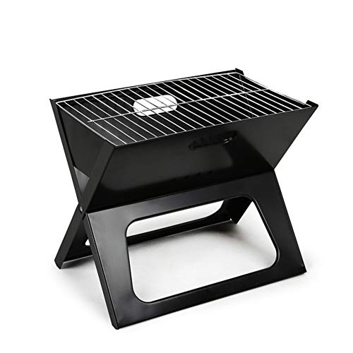 - XIAOBOLO Folding Grill,Charcoal Barbecue Grill BBQ Portable Thicken X-Type Carbon Mini Grill Vertical Household Outdoor Oven Camp Grills
