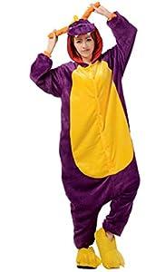 Juway Animal Pajamas Halloween Costume Onesie Unisex Adult