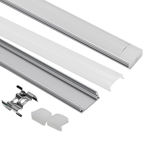 1m 3 3ft U Shape Aluminum Channel For Surface And Recessed