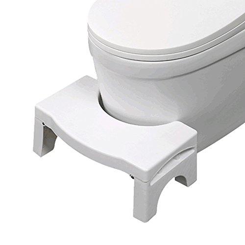 Beyoung® Foldable Bathroom Toilet Stool - Original Folding Ergonomic Step Stool, Better Bowel Movement Gastroenterologist Proper Posture for Kids and Adult