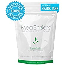 MealEnders Signaling Lozenges–Conquer Cravings, Curb Snacking, Beat Overeating, and Master Portion Control–Helps You Stick to Any Diet Weight Loss Program, 25-count Pouch (Chocolate Mint)