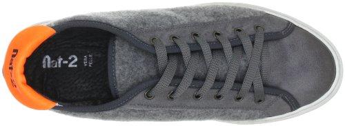 Nat-2 WANTED LOW WANTED LOW - Zapatillas fashion de cuero para hombre Gris