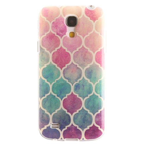 Case for Galaxy S4 mini, Leathlux Colorful Soft TPU Skin Cover Protective Bumper Flexible Silicone Gel Ultra Slim Case for Samsung Galaxy S4 mini i9190 (Samsung Galaxy S4 Mini Cute Case compare prices)