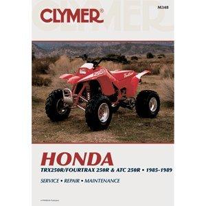 CLYMER HONDA TRX250R/FOURTRAX 250R & ATC 250R 1985-1989 M348