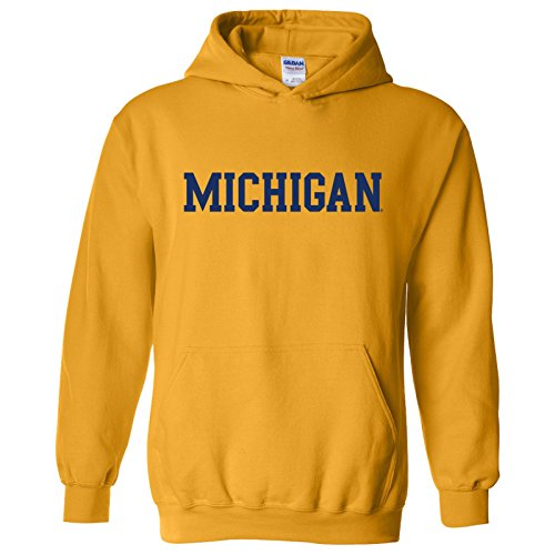 UGP Campus Apparel NCAA Officially Licensed College - University Team Color Basic Hoodie Sweatshirt