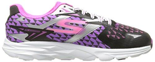 SkechersGo Run Ride 5 - Zapatillas de running mujer Negro (Bkpr)
