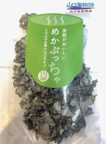 めかぶっちゃ ・海藻・ めかぶ の お茶 30g入り×3袋【茶殻がおいしい!とろみが自慢の山口産】