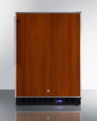 Summit Outdoor Frost-Free Built-in All-Freezer -Wood Model SPFF51OSFRIM by Summit