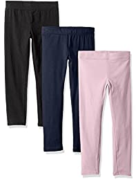 Clementine Apparel Girls Ultra Soft 3 Pack Leggings for Girls