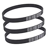 3pcs x Transfer Belts for Pulse Charger Electric Scooter Revolution City Skull HTD 384-3M-12 Belt