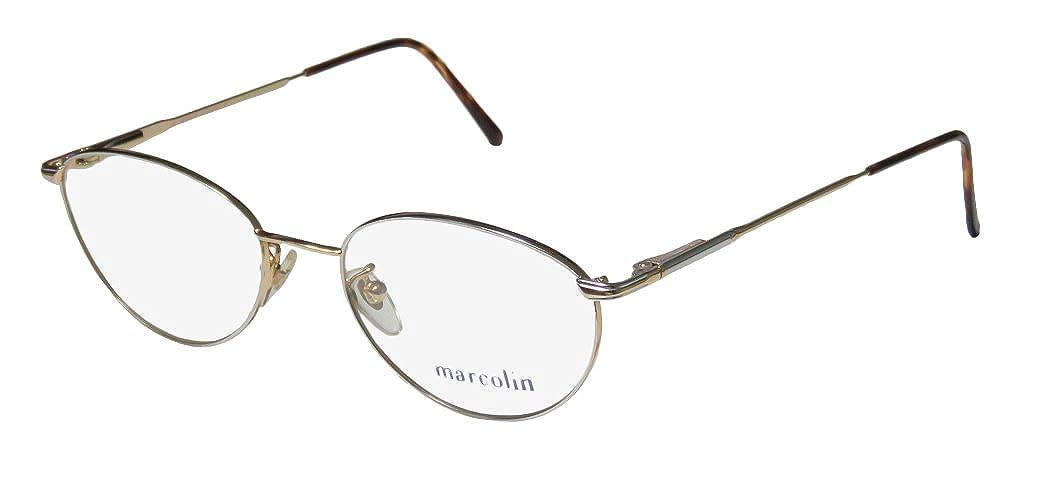Marcolin Village 35 Mens//Womens Designer Full-rim Flexible Hinges Classy Hip Made In Italy Eyeglasses//Spectacles