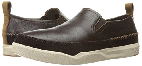 Hush Puppies Mens Lazy Genius Flexible Lightweight Active Shoes Brown