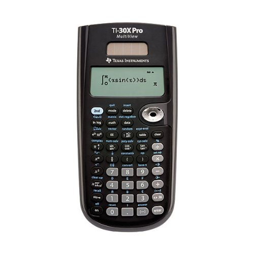 Texas Instruments Scientific Calculator with Pro Multiview TI30X PRO by OfficeCentre