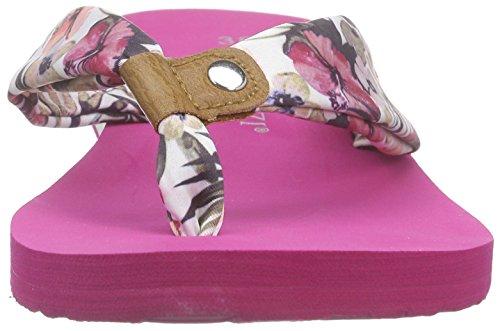 Marco Tozzi 27113 - Sandalias de dedo Mujer Rosa - Pink (ROSE FLOWER C. 504)