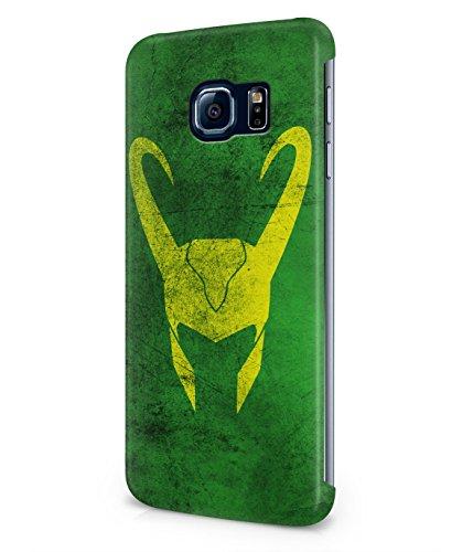 Loki God The Avengers Hero Plastic Snap-On Case Cover Shell For Samsung Galaxy S6 EDGE