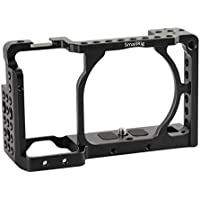 [Update] SmallRig Camera Cage for Sony A6000 A6300 ILCE-6000 ILCE-6300 NEX7 with 1/4 Thread for Base Plate, Top Handle, EVF Mount, Tripod Plate, Cheese Plate - 1661