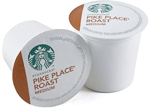 Starbucks Pike Place Roast Medium Roast Coffee Keurig K-Cups, 160 Count by Starbucks