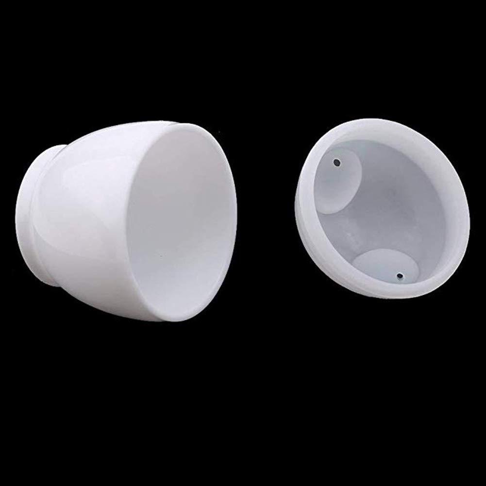 Queta - Huevera con Vapor para Horno microondas y Mini Huevos de ...
