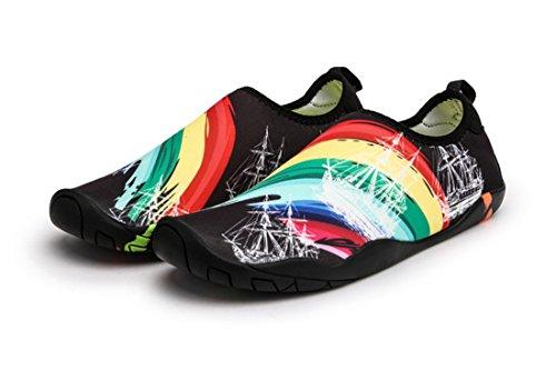 Damen 08 Schuhe Black Aqua Sixspace adqwpU66