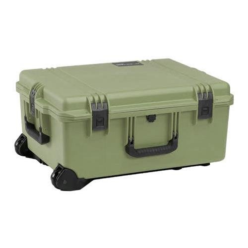 Pelican iM2720 Case with Wheels, Watertight, Padlockable Case, with Padded Divider Interior, Olive Drab