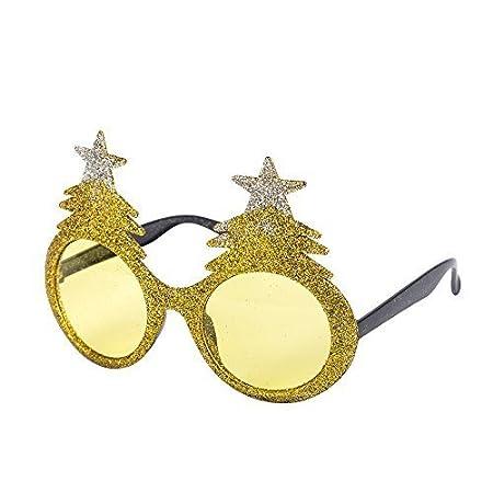 Antlers with Nose Christmas Tree, Santa, Reindeer, Snowflake etc Novelty Christmas Theme Glasses
