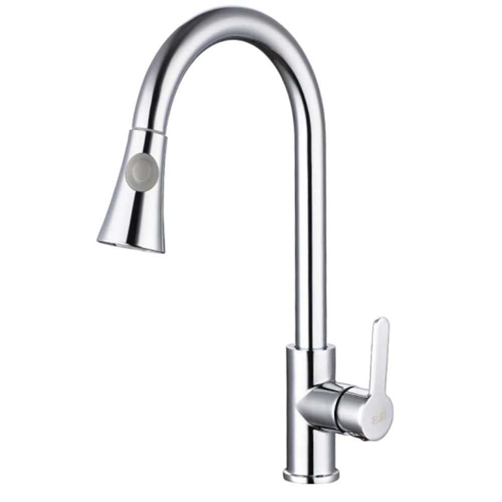 Kitchen Faucet Tapstainless Steelkitchen Faucet Proall Copper Main Kitchen Faucet Hot and Cold Wash Vegetable Basin Sink Pull Faucet