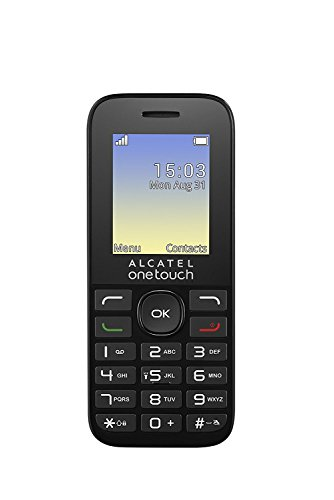 Alcatel 1016D Black Factory Unlocked International Version