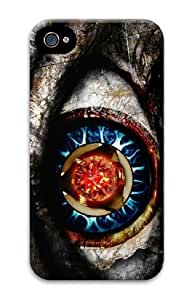 Iphone 4 4s 3D PC Hard Shell Case Eyes HDR by Sallylotus