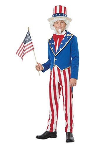 California Costumes Uncle Sam Child Costume-Large