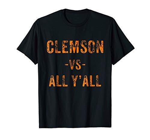 Clemson Vs All Y'All Shirt
