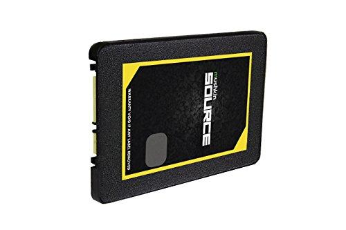 Mushkin Source - 1TB Internal Solid State Drive (SSD) - 2.5 Inch - SATA III - 6Gb/s - 3D Vertical TLC - 7mm - (MKNSSDSR1TB), Black by Mushkin (Image #2)