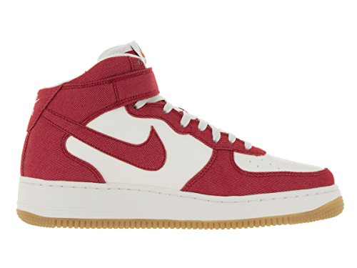 Uomo Rd '07 Da unvrsty Unvrsty Nike Mid Lg Rojo Force gm 1 Scarpe Rd sl Basket Air qwPS8A