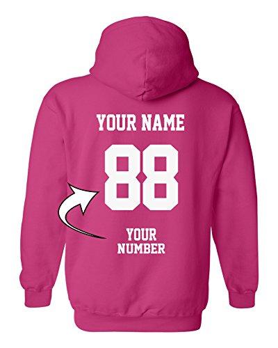 IE - Custom Jersey Hoodies - Pullover Team Sweatshirts (Own Custom Design)