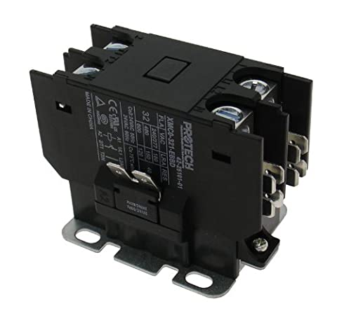 OEM Replacement for Rheem Single Pole / 1 Pole 30 Amp 24V Coil Condenser Contactor 42-20029-01 (Rheem Contactor)