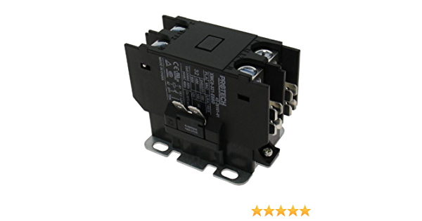 1 Pole 40 Amp Heavy Duty Condenser Contactor 42-20044-01 OEM Replacement for Ruud Single Pole