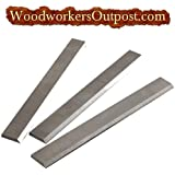 6 x 5/8 x 1/8 Carbide Jointer / Planer Knives, Delta, Craftsman, Rockwell, others