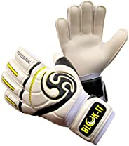 Goalkeeper Gloves by Blok-IT Goalie Gloves to Help You Make The Toughest Saves – Secure and Comfortable Fit wi