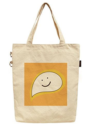Cute Hand Drawn Coffee Cup-1 Printed Canvas Tote Shoulder Bag WAS_40