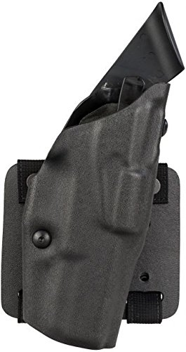 Als Tactical Thigh Holster - Safariland ALS Tactical Thigh Holster, Right Hand, STX Tactical Black Small Molle Adapter Plate