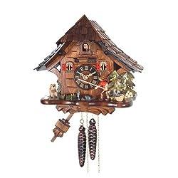 Alexander Taron Home Seasonal Décorative Accessories Engstler Weight-driven Cuckoo Clock - Full Size - 10H x 11W x 7D