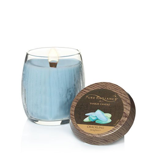 Yankee Candle Seaglass Small Pure Radiance Candle by Yankee Candle