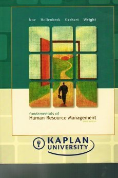 Fundamentals of Human Resource Manageme (3rd - Kaplan Custom Edition) (Fundamentals Of Human Resource Management 3rd Edition)