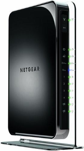 Netgear WiFi Dual Band Gigabit Router (WNDR4500-100NAS) by NETGEAR