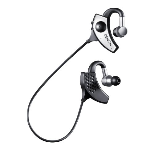 Denon AH-W200 Globe Cruiser Wireless Bluetooth Noise-Isolating Around the Neck In-Ear Headphones Around the Neck Earbuds Earphones ()