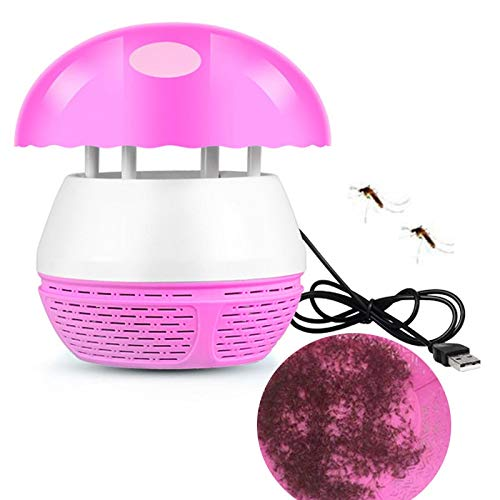 USB Mosquito Trap Repellent Electronic Photocatalyst Bed Anti Mosquito Killer Lamp Fly Insect Bug Trap Pest Repeller Reject