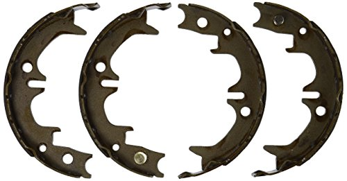 (ACDelco 17859B Professional Bonded Rear Parking Brake Shoe Set)