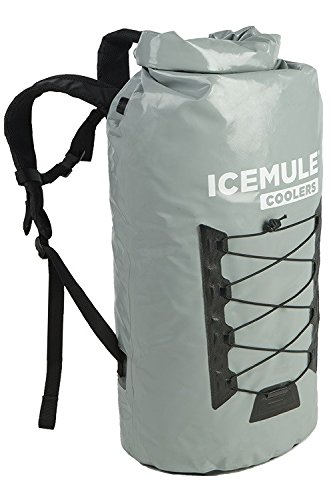 (IceMule Pro Insulated Backpack Cooler Bag - Hands-Free, Highly-Portable, Collapsible, Waterproof and Soft-Sided Cooler Backpack for Hiking, The Beach, Picnics, Camping, Fishing - 40 Liters, 40 Can)